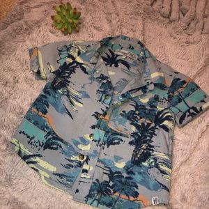 TROPICS// Hawaiian vibes toddler tee